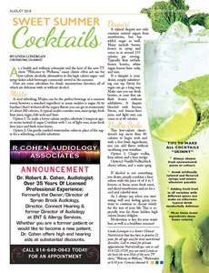 Sweet Summer Cocktails Article
